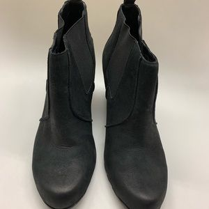 Wedge Ankle Booties Tell Tales Reaction